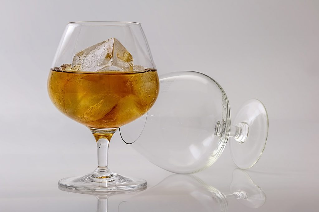 cognac serving